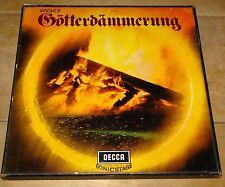WAGNER GOTTERDAMMERUNG SOLTI BIRGIT NILSSON STEREO DECCA WBg ED2 SXL 292 297 LP