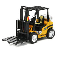 1:24 Forklift Truck Construction Vehicle Alloy Diecast Model Toy Gift Yellow