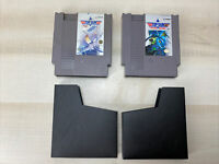 Top Gun & Top Gun The Second Mission NES Authentic! Tested! W/ Dust Jackets LOT