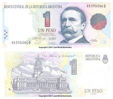 Argentina 1 peso 1993 Serie D P-339b Billetes Unc
