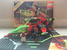 Lego Blacktron M-Tron Particle Ionizer 6923 w/ Box and Instructions 99% Complete