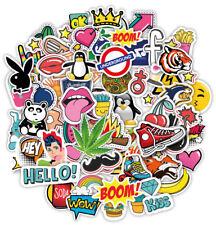 Calcomanías 100 Pegatinas de vinilo en las Graffiti Macbook Iphone Patineta Arte Pop