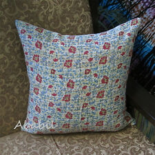 "16"" Paisley Kantha Elegant Cushion Cover Cotton Ethnic Indian Handmade Pillow AU"