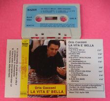 MC ORIO COCCONI La vita e' bella 1989 italy BAZAR 7722 no cd lp dvd vhs