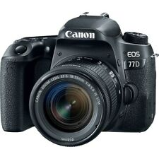 Canon EOS 77D with EF-S 18-55mm f4-5.6 STM Black Multi gft Ship from EU Original