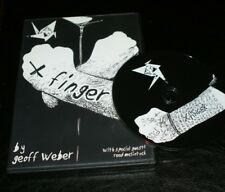 X Finger Dvd (Geoff Weber)-almost impromptu moving ink -Tmgs Dvd blowout!