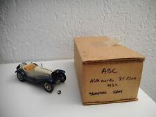 ALFA ROMEO 8C 2300 marque ABC -Brianza kit  monté 1 43 résine vintage N°130 /200
