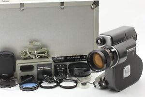 All Works【Exc+5】 Canon Scoopic 16 16mm Film Movie Camera Genuine Case From JAPAN