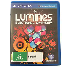Lumines Electronic Symphony PS Vita Game PlayStation Complete With Manual
