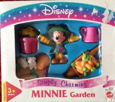 DISNEY MINNIE MOUSE MINNIE GARDEN NEW/SEALED BY MATTEL SIMPLY CHARMING PLAYSET