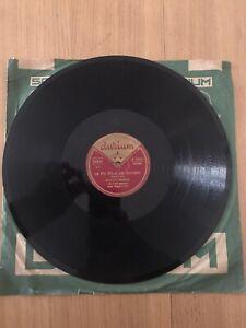 Disco grammofono 78 Giri Marino Marini La Più Bella Del Mondo I'Ballo O'Tango