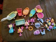 Littlest Pet Shop authentic furniture ,accessories lot