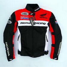 Honda HRC Racing Zip Jackets Motor Off-road Ride Protective Mesh Coat Riding New