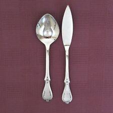 Northland Evening Star butter knife sugar spoon stainless steel flatware