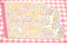 Lemon / Sugar Land Unicorn Die-cut Folding Letter Memo Pad / Japan Stationery