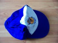 Blue & white junior pirates cap, unbranded, no size, can be unisex
