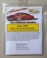 Truck Wood Bed Kit 1:24 1:25 DETAIL MASTER CAR MODEL ACCESSORY 2900