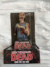 The Walking Dead Zombie Vinyl Bust Bank Diamond Select - New