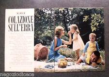 AZ77 - Clipping-Ritaglio -1967- QUATTRORUOTE PER LEI,PIC-NIC COLAZIONE SULL'ERBA