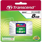 Transcend 8gb Sdhc Tarjeta de memoria SD para Samsung WB1100F WB250F ST150F