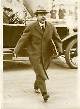 """Mr NAGAOKA Ambassadeur du JAPON Paris 1932"" Photo originale G.DEVRED (Agce ROL)"