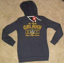 La L.A. Galaxy Mls Adidas Soccer Hoodie Sweatshirt sz. Adult Small -New w. Tags-