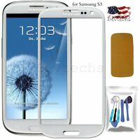 for Samsung Galaxy S3 i9300 Front Screen Glass Lens Replacement Tool Kit White