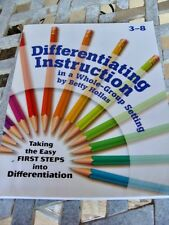"""Differentiating Instruction in a Whole-Group Setting"" 3rd - 8th grade Education"