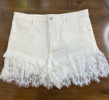 Steele The Label Sutton Shorts Ivory Size S BNWT
