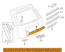 Chevrolet GM OEM 10-15 Equinox Liftgate Tailgate Hatch-Molding Trim 84048500