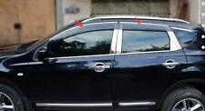 4pcs Window Visor Rain Sun Shield Guard For Nissan QASHQAI 2008- 2013