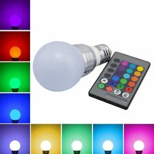 3W E27 16 Color LED Magic RGB Spot Light Bulb Lamp w Wireless Remote Control