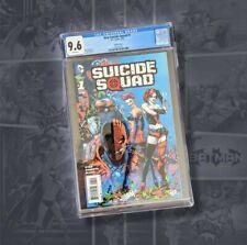 New Suicide Squad #1 Variant Cover 1:25 Ltd. Ed. CGC 9.6NM+ Harley Quinn