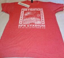 Foo Fighters 20th Anniversary Live RFK STADIUM Wash DC 4 July '15 SHIRT MEDIUM