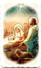 Santos brillo navidad pesebre Jesús Niño Jesús 10,4 x 6 cm HBG 5057