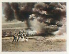 German Soldiers flamethrower Verdun Deutsches Heer WWI WELTKRIEG 14/18 CHROMO