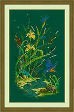 Counted Cross Stitch Kit GOLDEN HANDS - Forest coolness