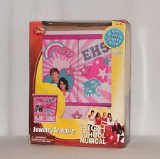 New - Disney High School Musical Jewelry Armoire / Box / Kids, Tweens & Teens