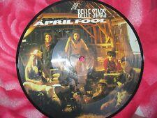 "The Belle Stars Sweet Memory / April Fool Stiff Record UK Vinyl 7"" Picture Disc"