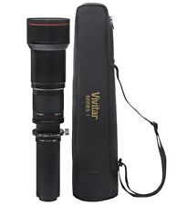 Vivitar 650-1300mm Tele Zoom Lens for Canon EOS Rebel Xsi 450D T4I 650D T5i 700D