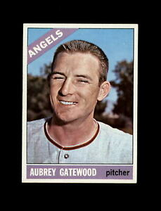 1966 Topps Baseball #42 Aubrey Gatewood (Angels) NM