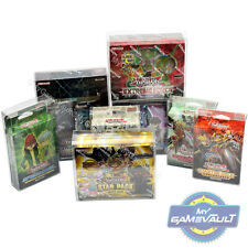 More details for yugioh booster box protectors starter structure decks 0.5mm plastic display case