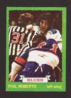 Phil Roberto St. Louis Blues 1973-74 Topps Hockey Card #151 EX/MT