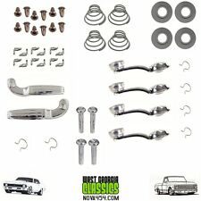 CHEVELLE  NOVA DOOR PANEL KIT ACCESSORIES 46pcs Clear Window Handles