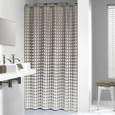 extra long shower curtain 72 x 78 inch sealskin speckles taupe fabric