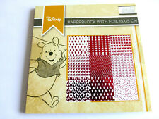 Fond PAPIER desingblock Disney Winnie Pooh 18 feuilles scrapbooking bricolage