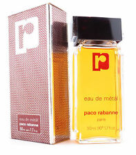 Paco Rabanne Eau de Metal Edt Uomo No Vapo 50 ml