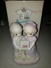 Precious Moments To Have And To Hold 50th Anniversary 1995 With Box