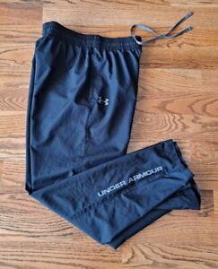 Under Armour Golf Running Athletic Waterproof Pants Men's Size M Black