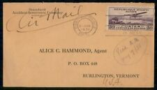 MayfairStamps Haiti 1931 Port-au-Prince to Burlington Vermont Air Mail Cover WWH